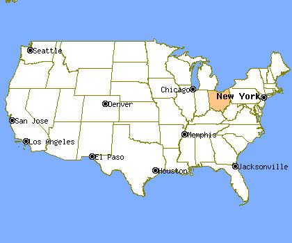 Ohio Profile Population Crime Map